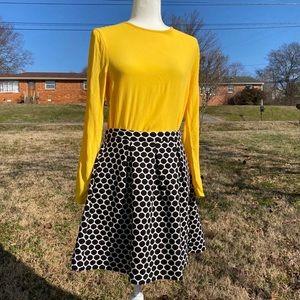 Boden Polka Dot Skirt